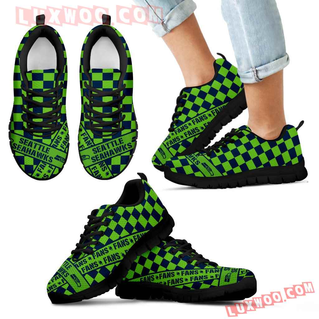 Banner Exclusive Seattle Seahawks Superior Sneakers