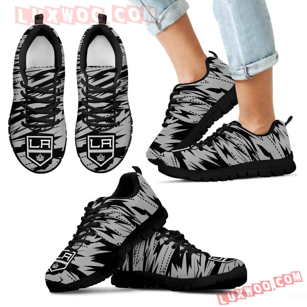 Brush Strong Cracking Comfortable Los Angeles Kings Sneakers