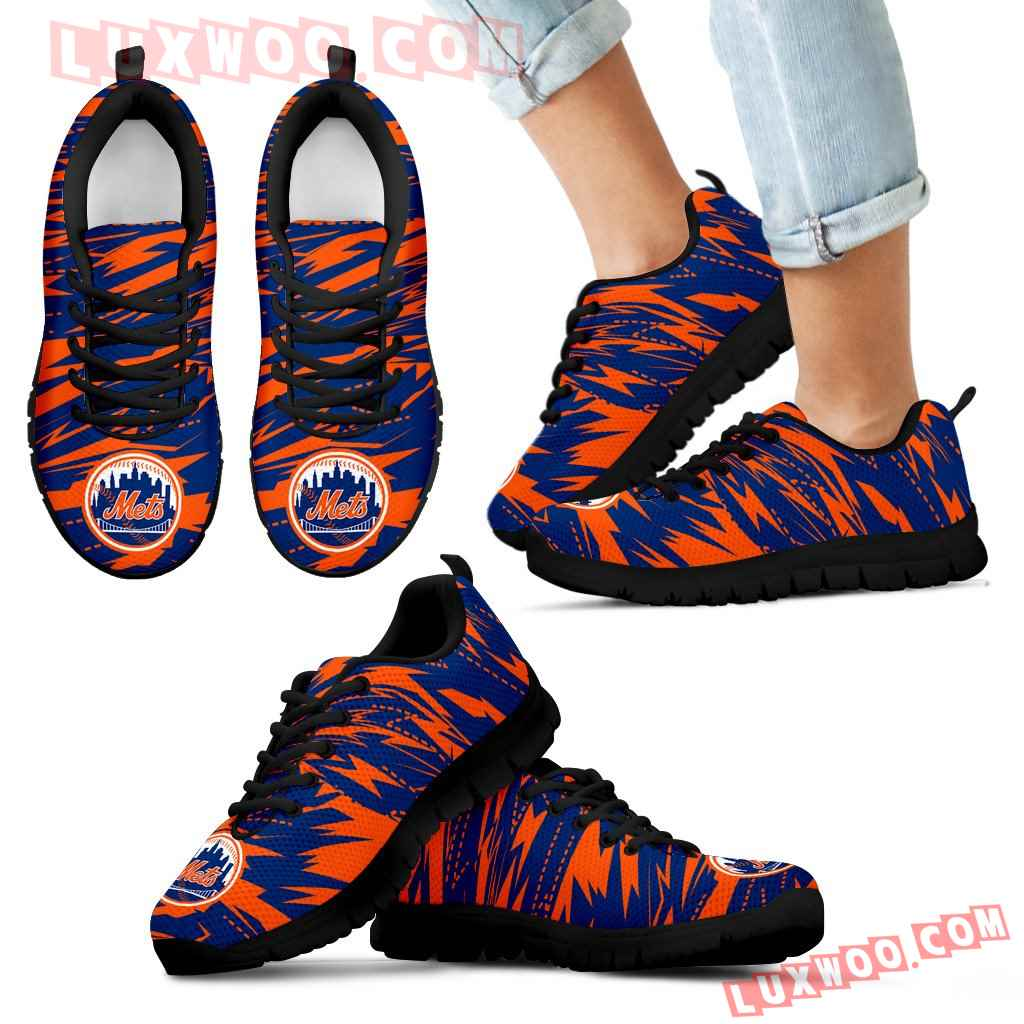 Brush Strong Cracking Comfortable New York Mets Sneakers