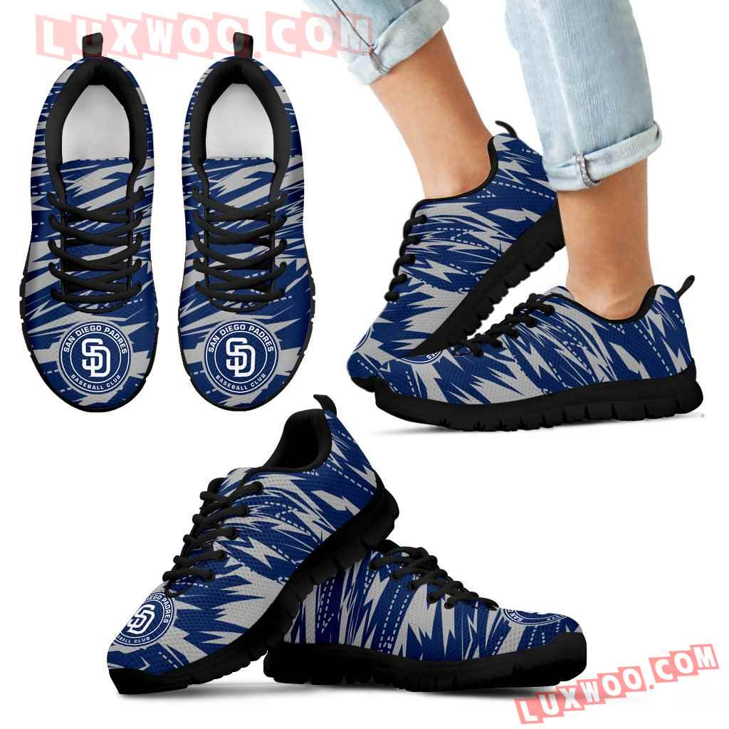Brush Strong Cracking Comfortable San Diego Padres Sneakers