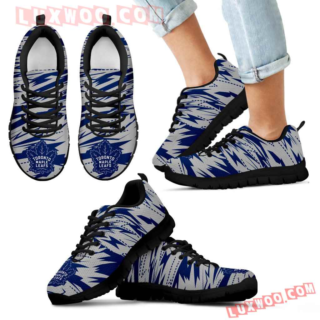 Brush Strong Cracking Comfortable Toronto Maple Leafs Sneakers