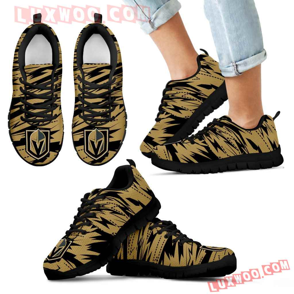 Brush Strong Cracking Comfortable Vegas Golden Knights Sneakers