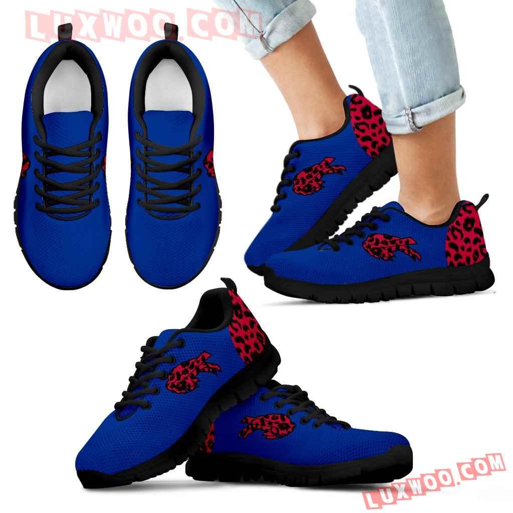 Cheetah Pattern Fabulous Buffalo Bills Sneakers