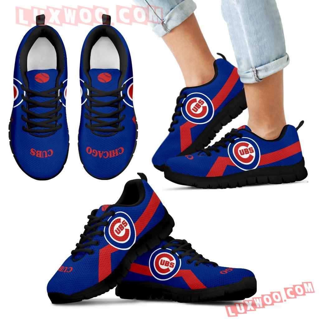 Chicago Cubs Line Logo Sneakers