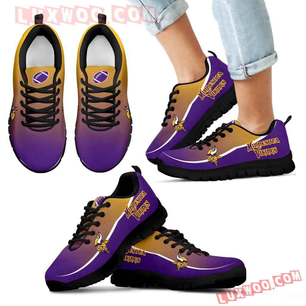 Colorful Minnesota Vikings Passion Sneakers