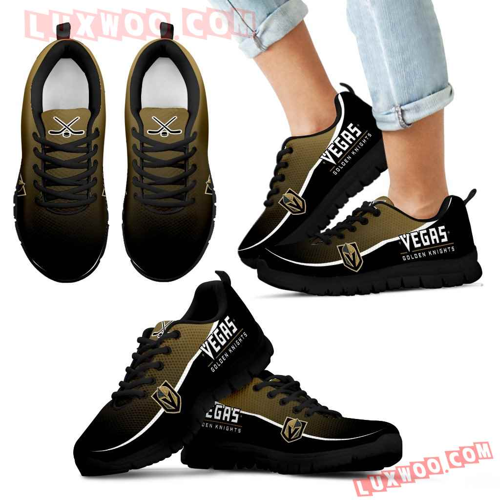 Colorful Vegas Golden Knights Passion Sneakers