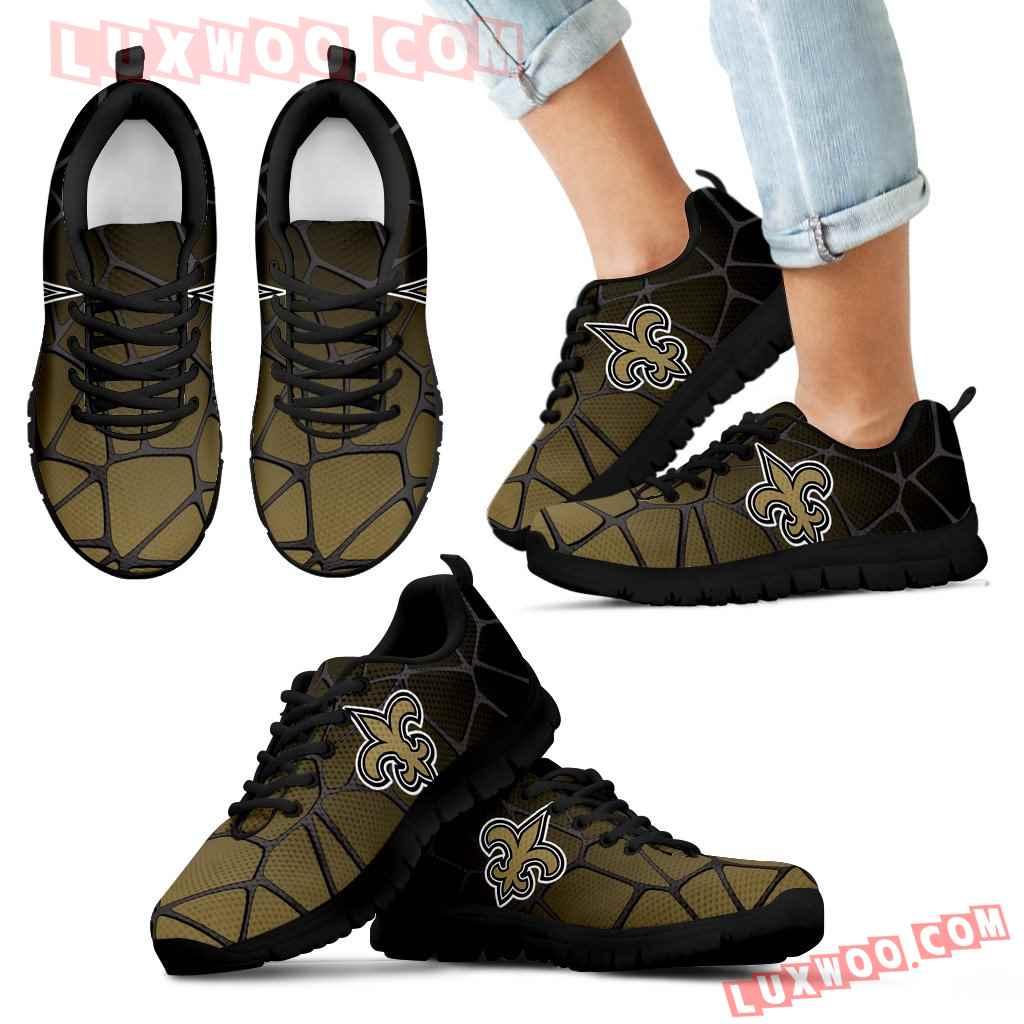 Colors Air Cushion New Orleans Saints Gradient Sneakers