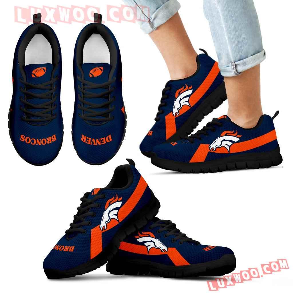 Denver Broncos Line Logo Sneakers