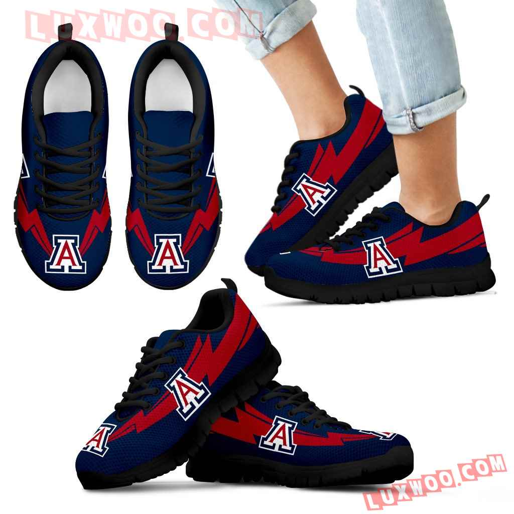 Three Amazing Good Line Charming Logo Arizona Wildcats Sneakers