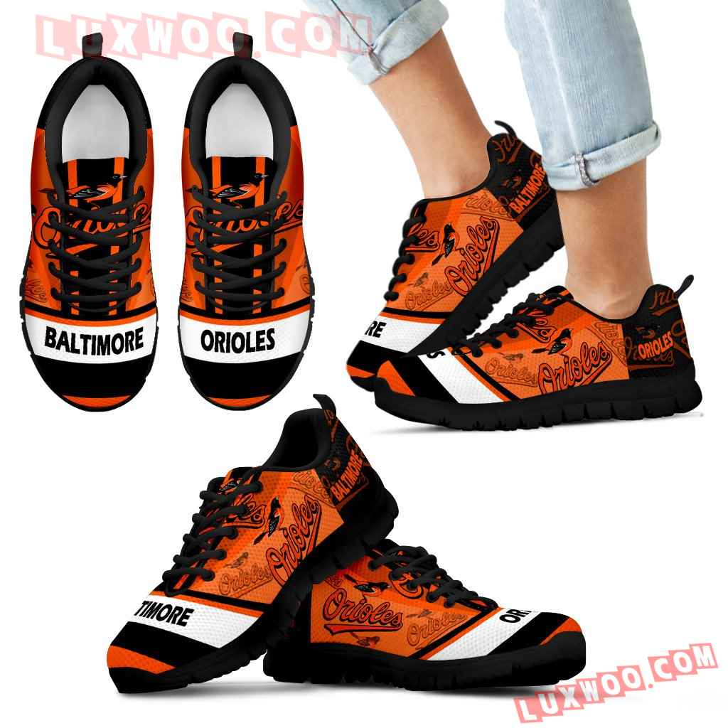 Three Impressing Point Of Logo Baltimore Orioles Sneakers