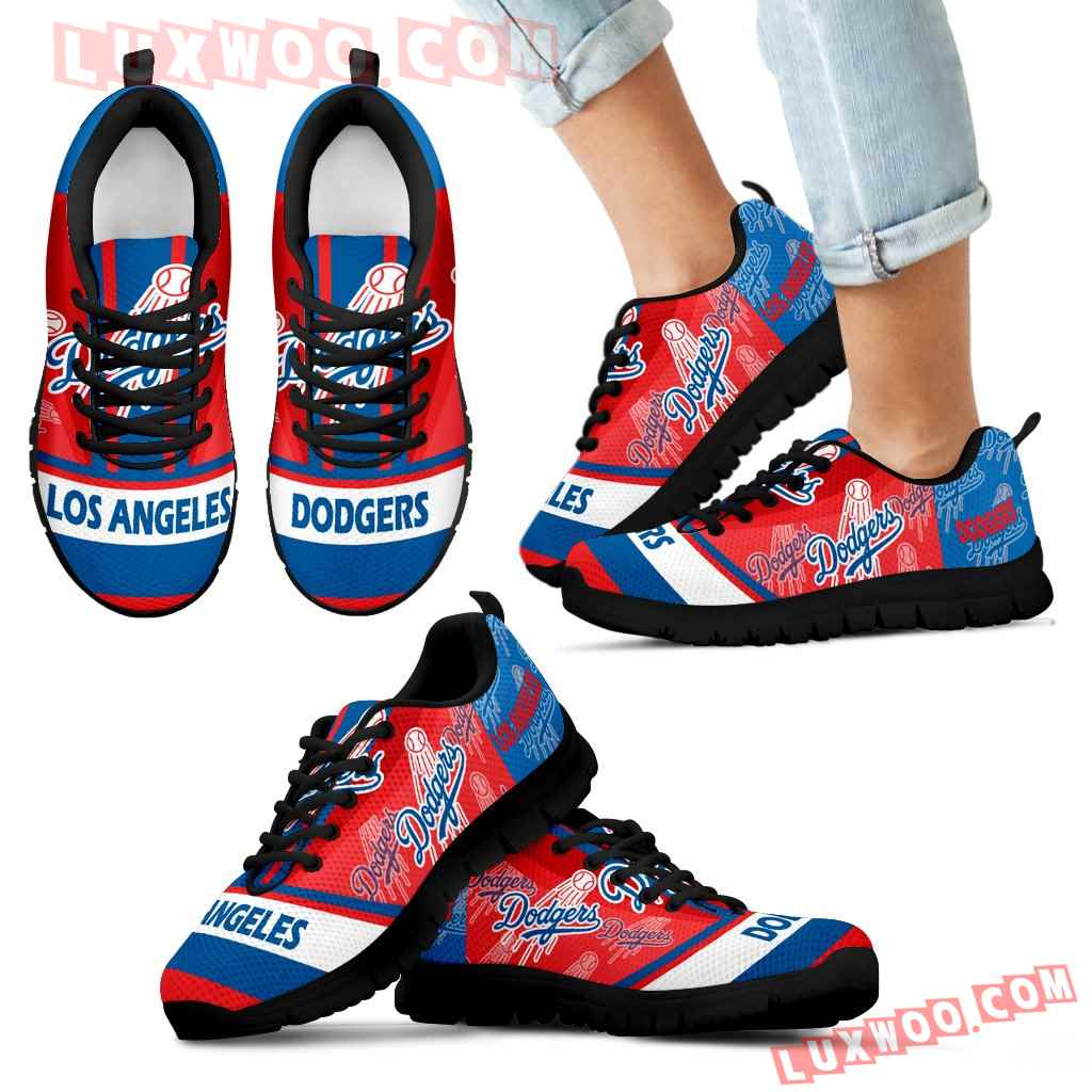 Three Impressing Point Of Logo Los Angeles Dodgers Sneakers