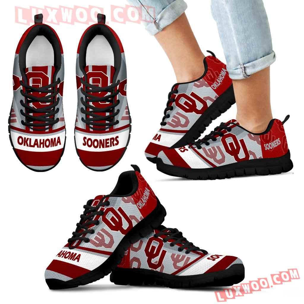 Three Impressing Point Of Logo Oklahoma Sooners Sneakers