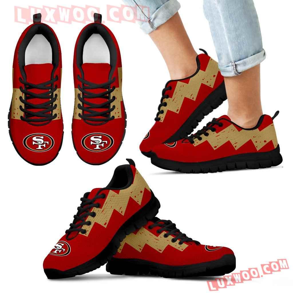 Dragon Flying Fancy San Francisco 49ers Logo Sneakers