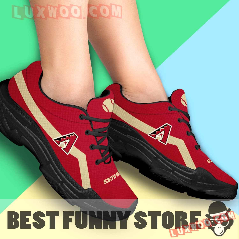 Edition Chunky Sneakers With Line Arizona Diamondbacks Shoes