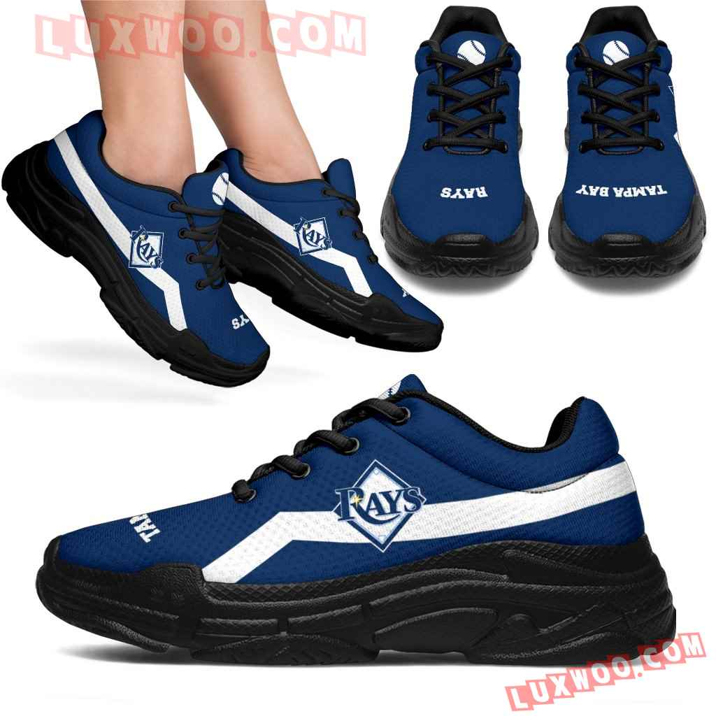 Edition Chunky Sneakers With Line Tampa Bay Rays Shoes