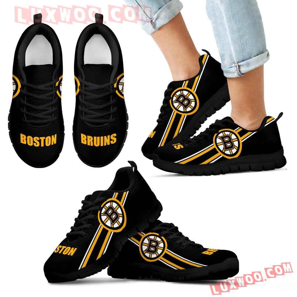 Fall Of Light Boston Bruins Sneakers
