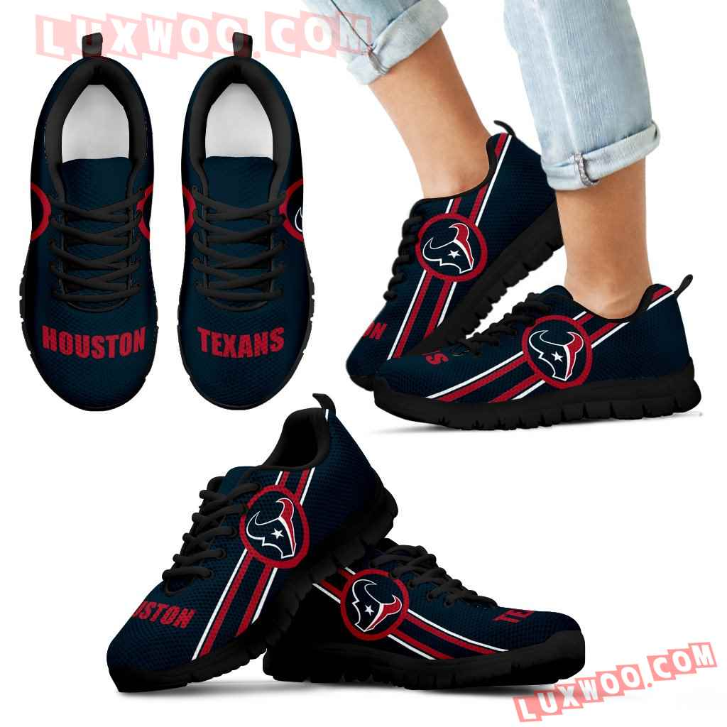 Fall Of Light Houston Texans Sneakers