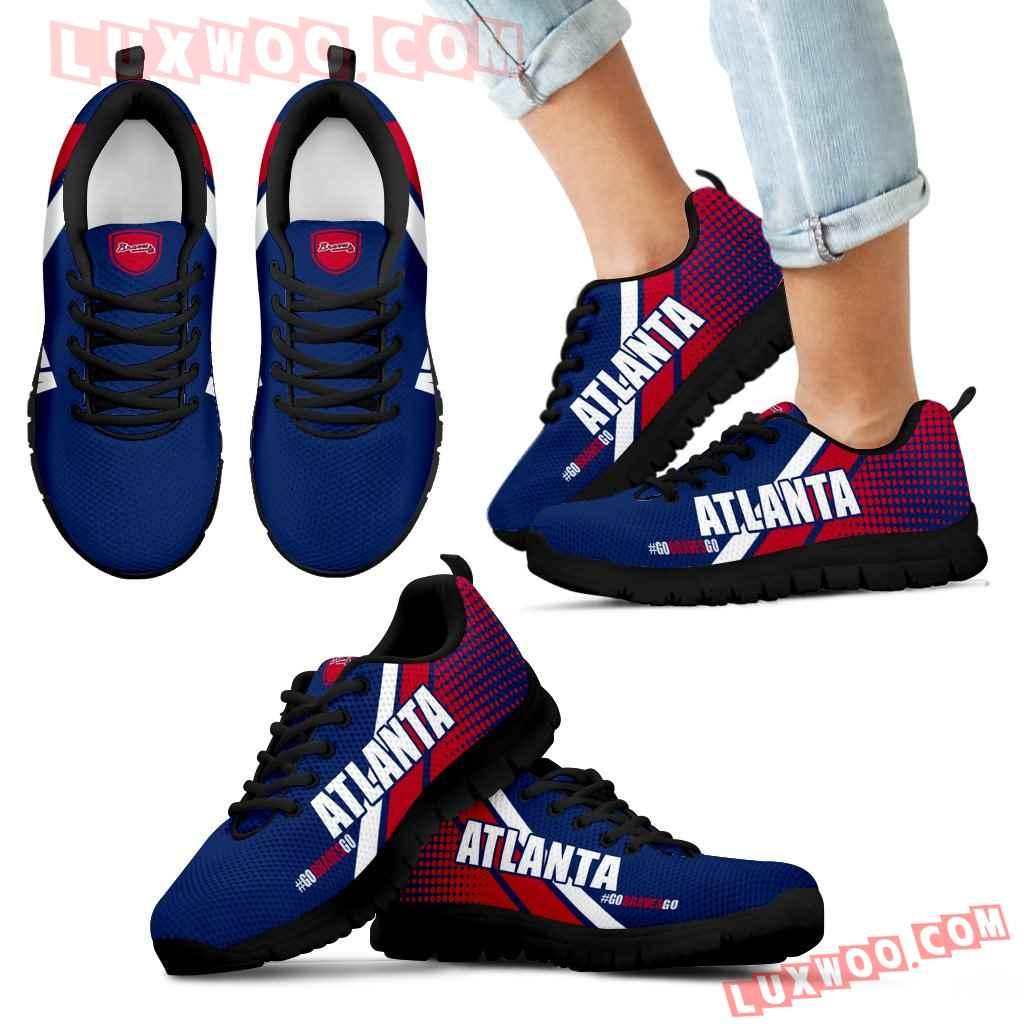 Go Atlanta Braves Go Atlanta Braves Sneakers