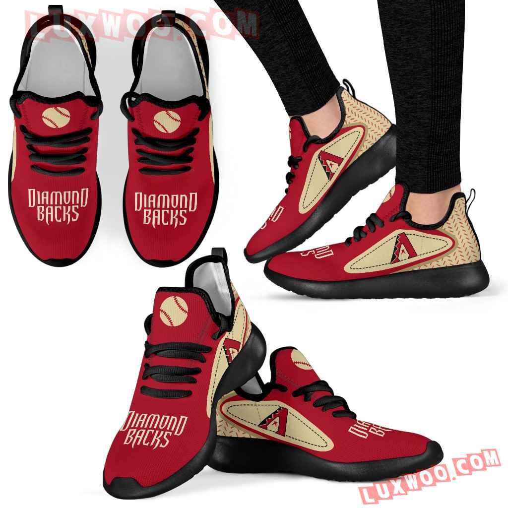 Legend React Arizona Diamondbacks Mesh Knit Sneakers