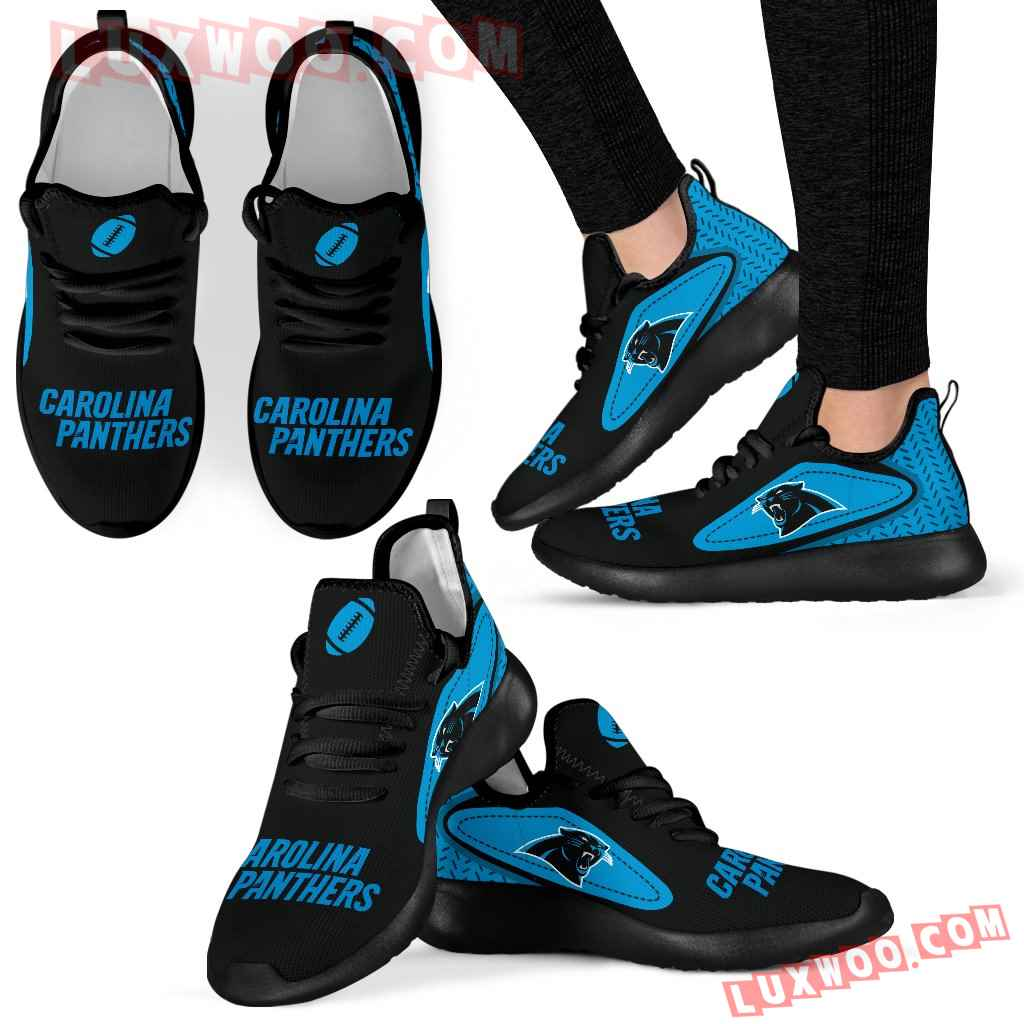 Legend React Carolina Panthers Mesh Knit Sneakers