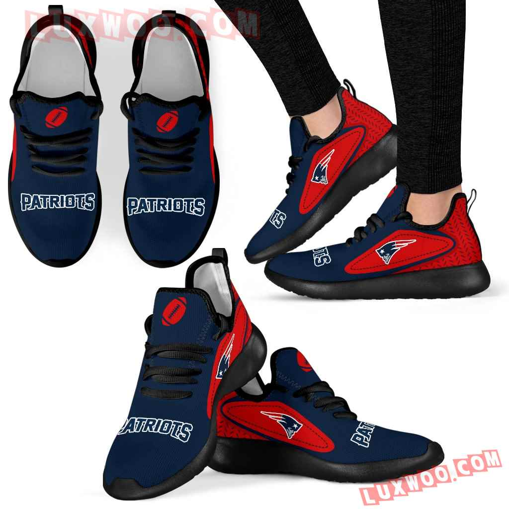 Legend React New England Patriots Mesh Knit Sneakers