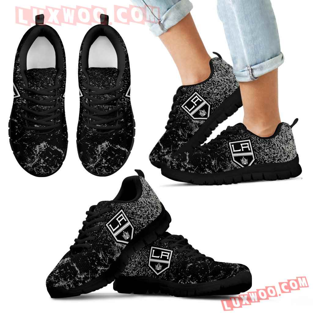 Light Tiny Pixel Smashing Pieces Los Angeles Kings Sneakers