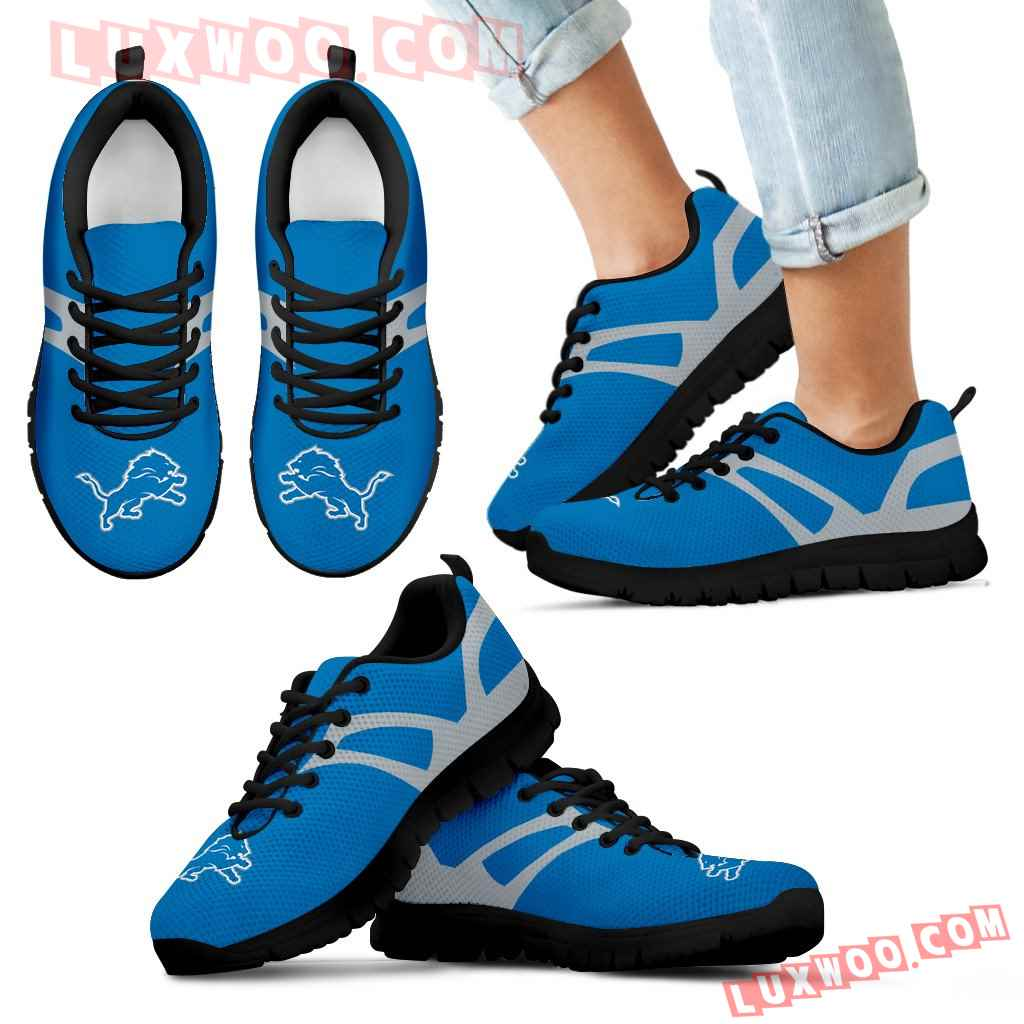 Line Amazing Bottom Detroit Lions Sneakers