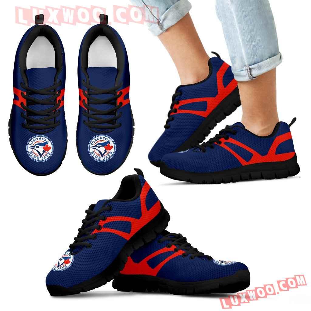 Line Amazing Bottom Toronto Blue Jays Sneakers