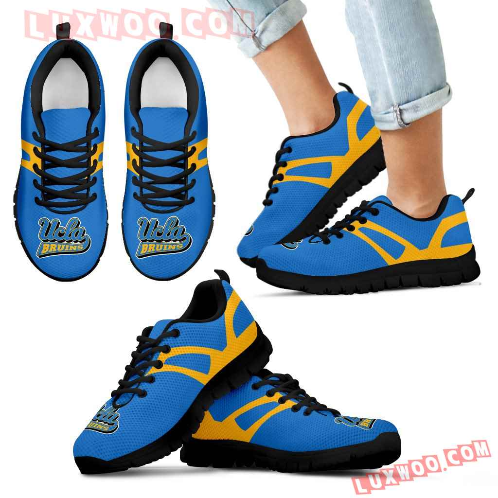Line Amazing Bottom Ucla Bruins Sneakers