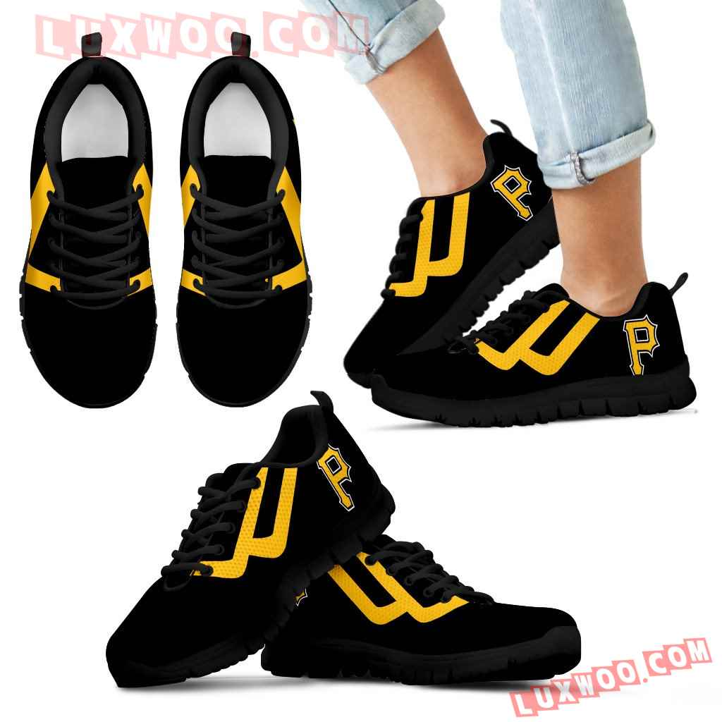 Line Bottom Straight Pittsburgh Pirates Sneakers