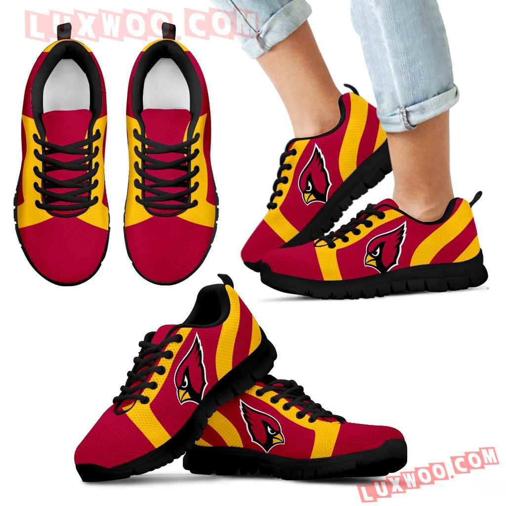 Line Inclined Classy Arizona Cardinals Sneakers