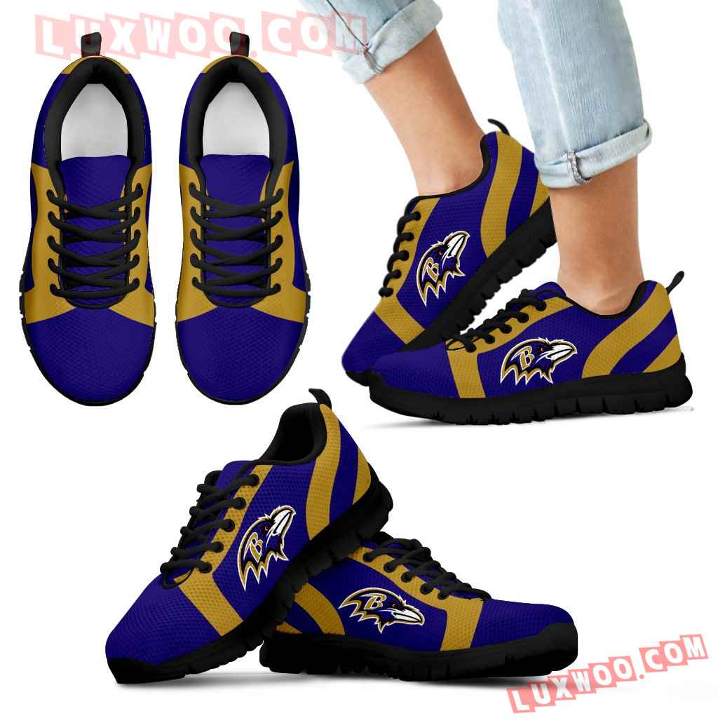 Line Inclined Classy Baltimore Ravens Sneakers