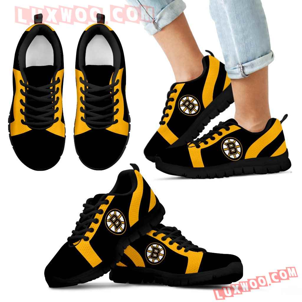 Line Inclined Classy Boston Bruins Sneakers