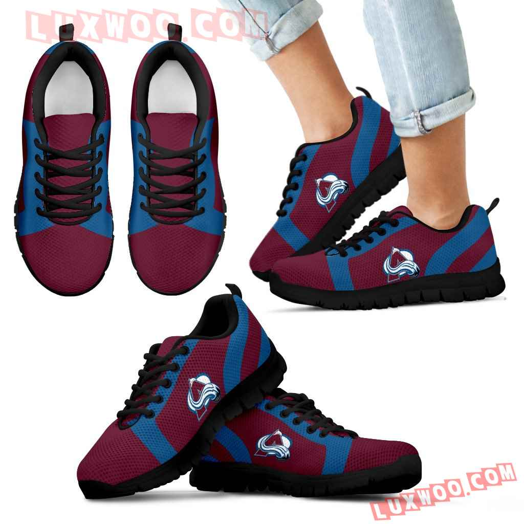 Line Inclined Classy Colorado Avalanche Sneakers