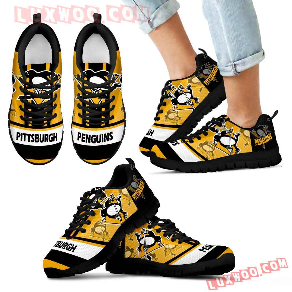 Three Impressing Point Of Logo Pittsburgh Penguins Sneakers