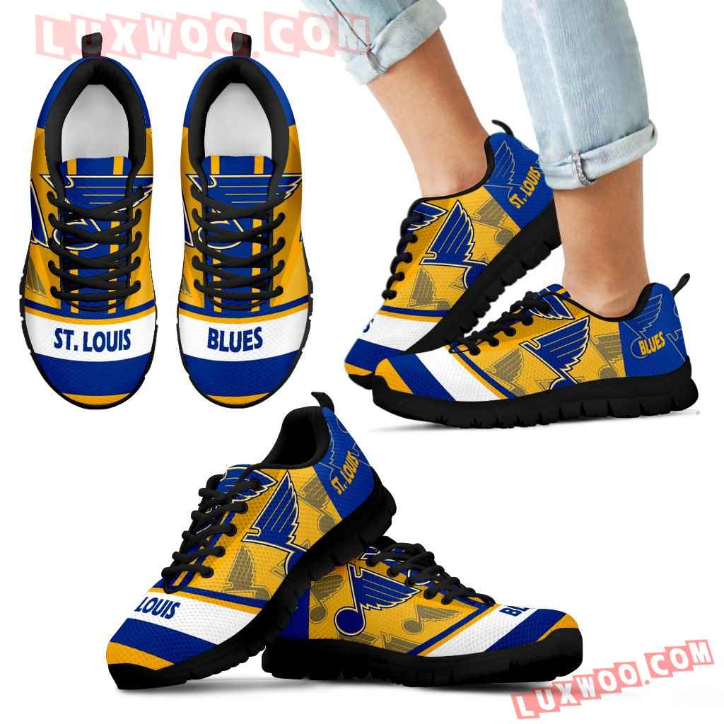 Three Impressing Point Of Logo St Louis Blues Sneakers