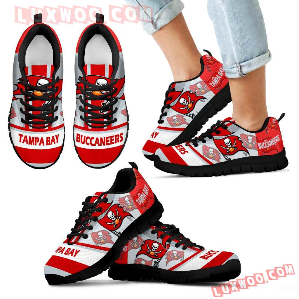 Three Impressing Point Of Logo Tampa Bay Buccaneers Sneakers