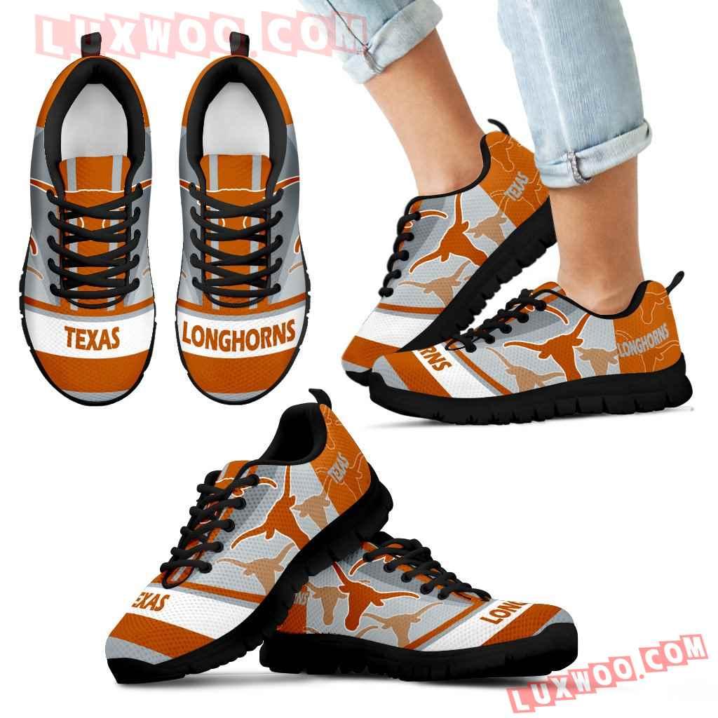 Three Impressing Point Of Logo Texas Longhorns Sneakers