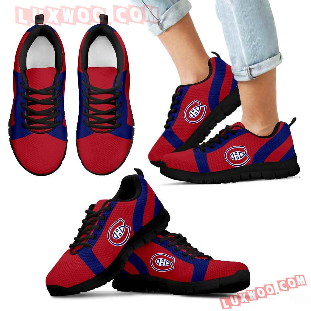Line Inclined Classy Montreal Canadiens Sneakers