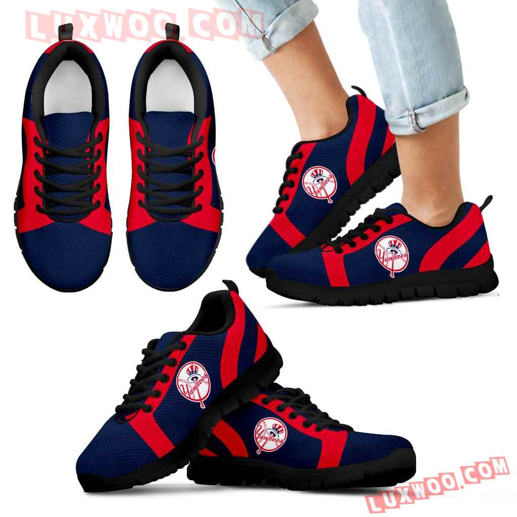 Line Inclined Classy New York Yankees Sneakers