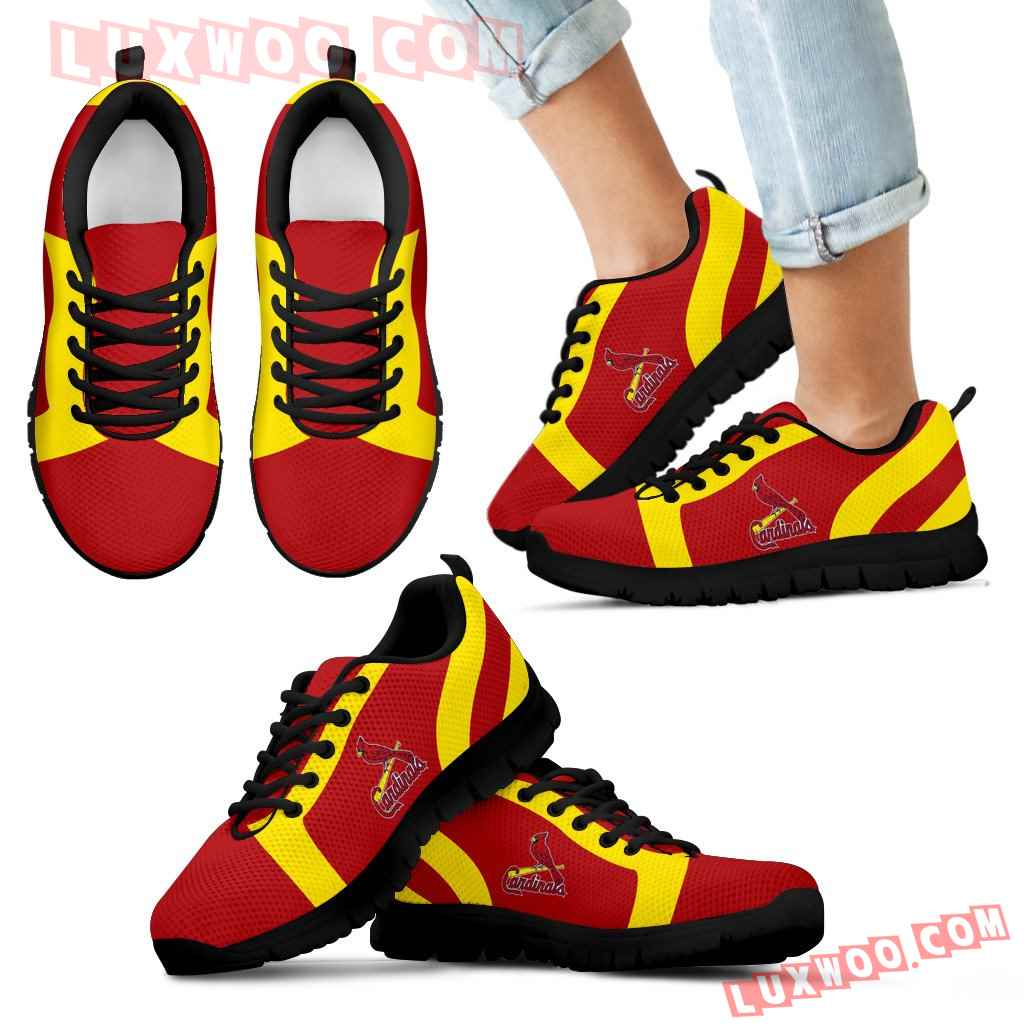 Line Inclined Classy St Louis Cardinals Sneakers