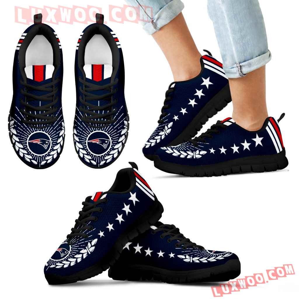 Line Of Stars Victory New England Patriots Sneakers