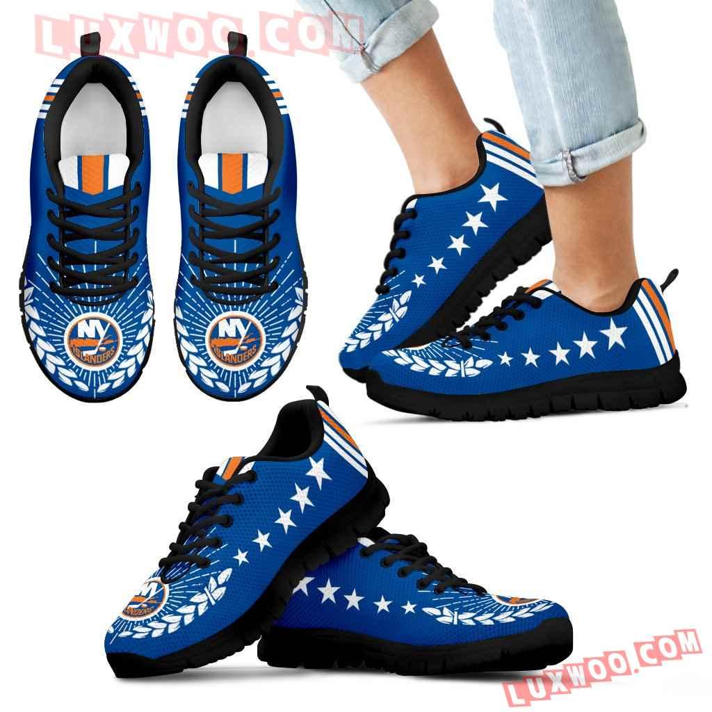 Line Of Stars Victory New York Islanders Sneakers
