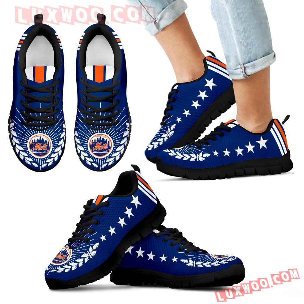 Line Of Stars Victory New York Mets Sneakers