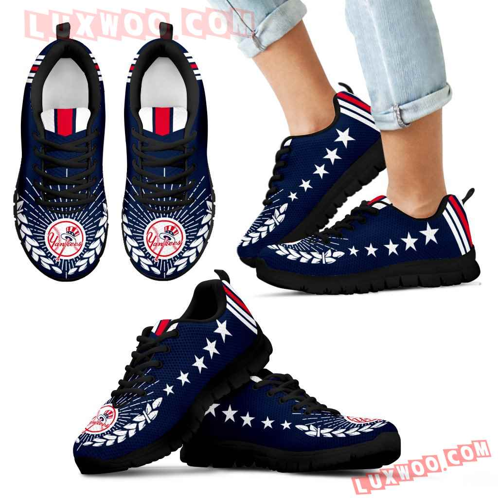 Line Of Stars Victory New York Yankees Sneakers