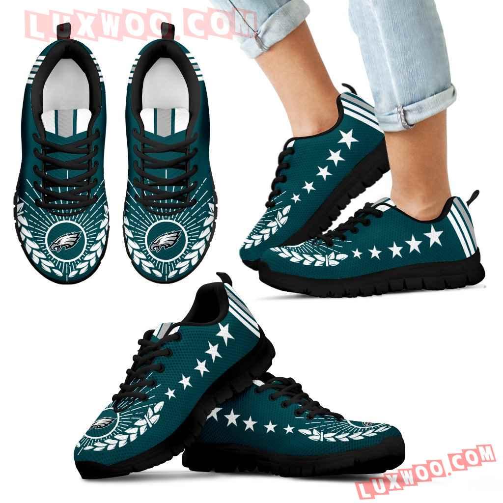 Line Of Stars Victory Philadelphia Eagles Sneakers