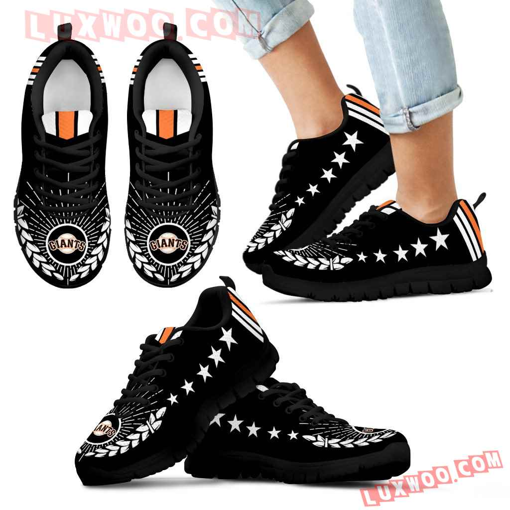 Line Of Stars Victory San Francisco Giants Sneakers