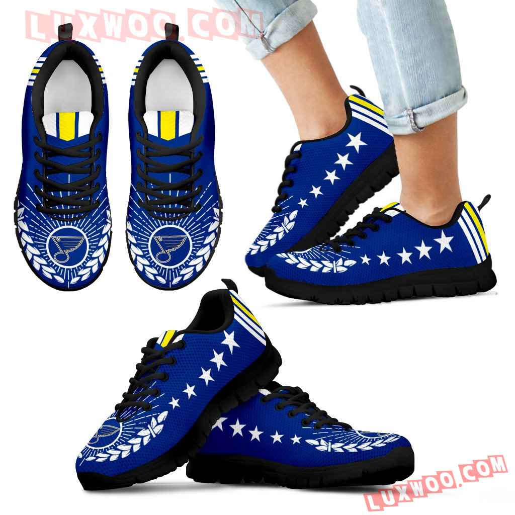 Line Of Stars Victory St Louis Blues Sneakers
