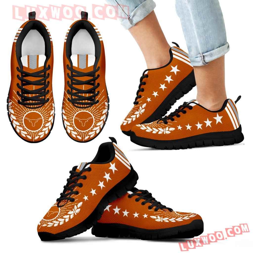 Line Of Stars Victory Texas Longhorns Sneakers