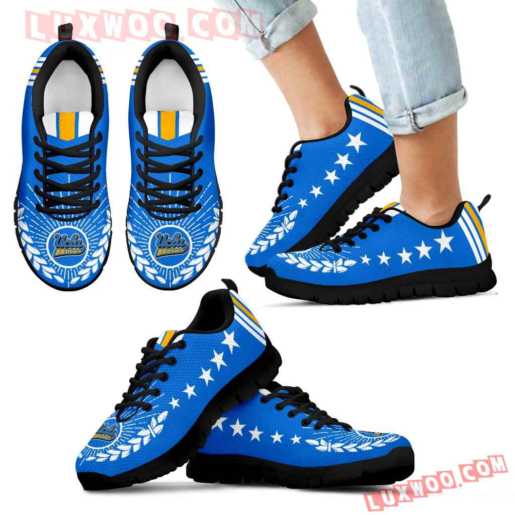 Line Of Stars Victory Ucla Bruins Sneakers